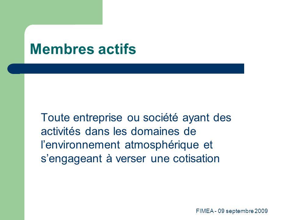 Membres actifs