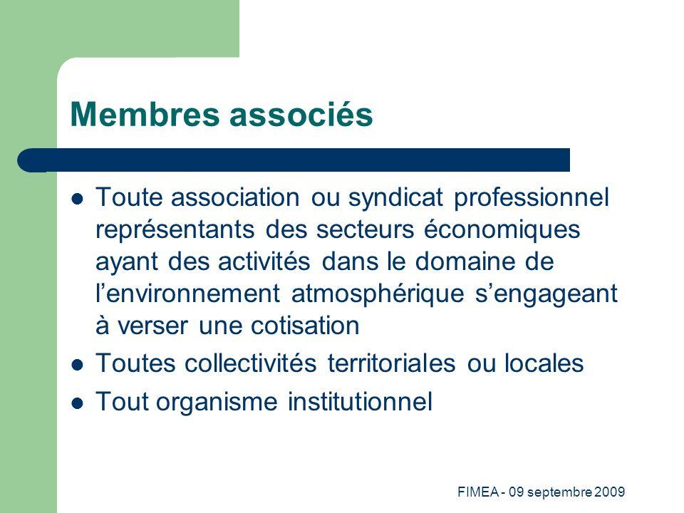 Membres associés