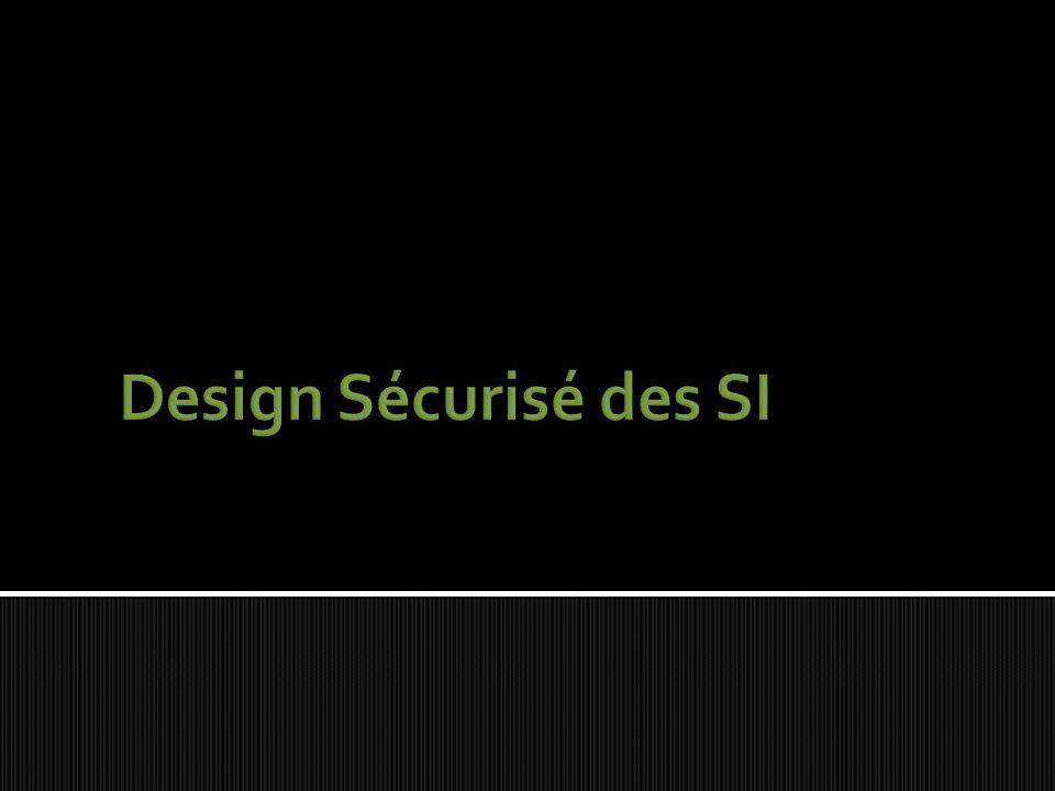 Design Sécurisé des SI