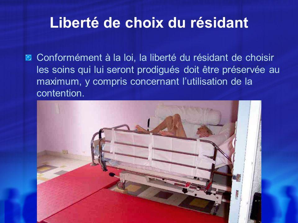 Liberté de choix du résidant