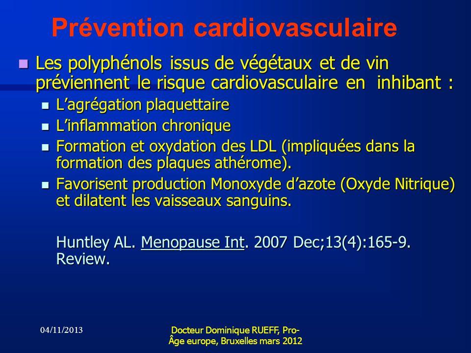 Prévention cardiovasculaire