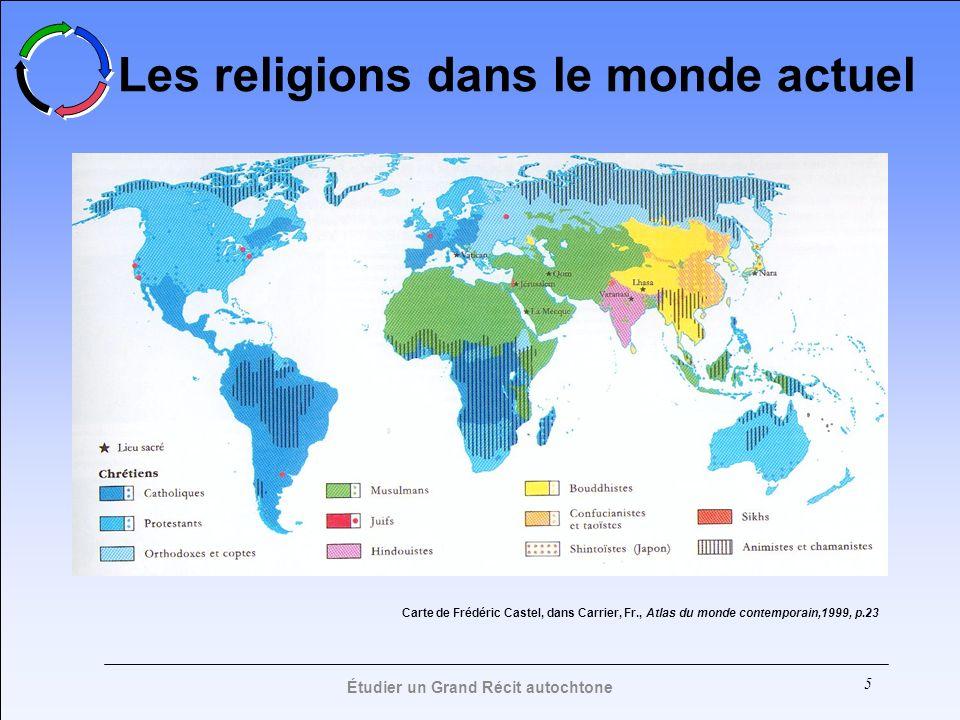 Les religions dans le monde actuel