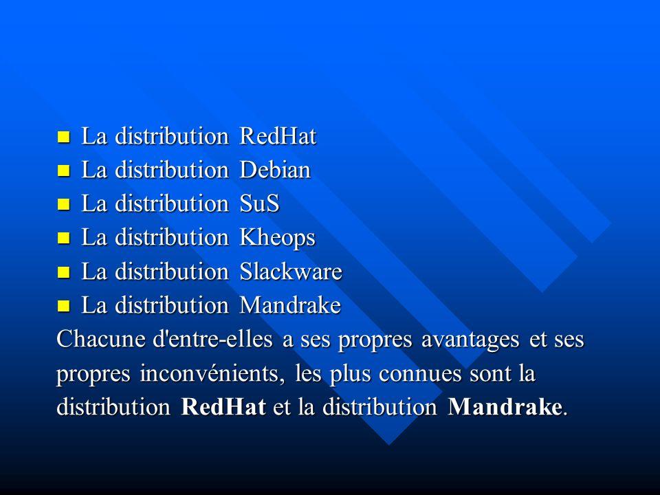 La distribution RedHat