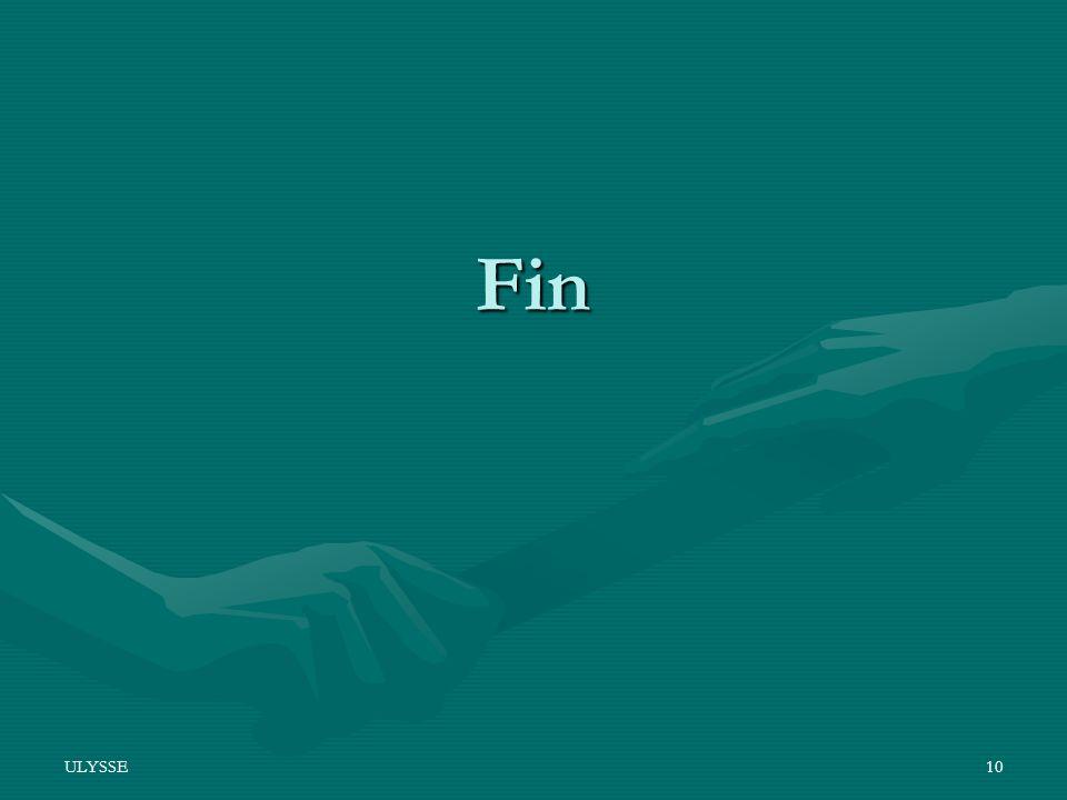 Fin ULYSSE