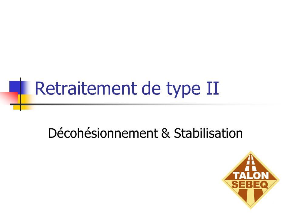 Retraitement de type II