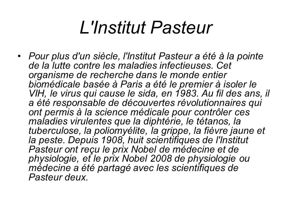 L Institut Pasteur
