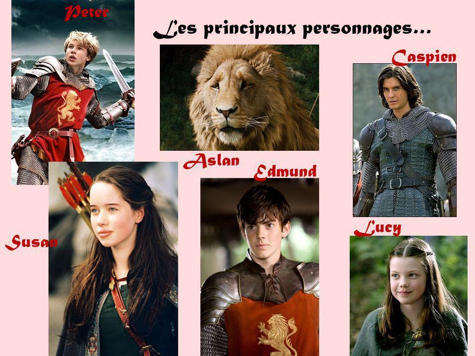 Les principaux personnages…