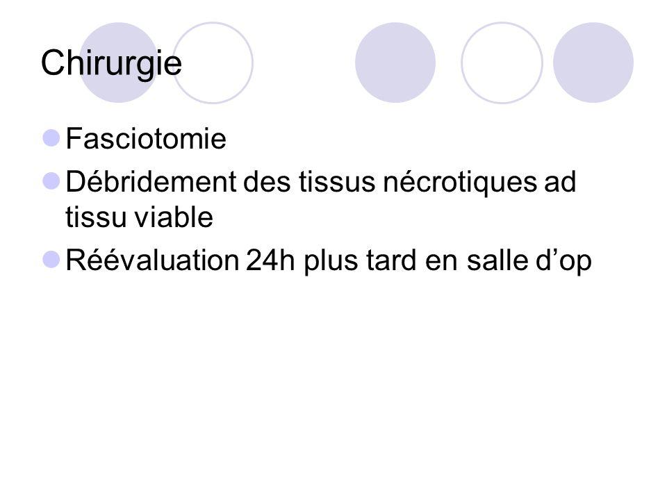Chirurgie Fasciotomie
