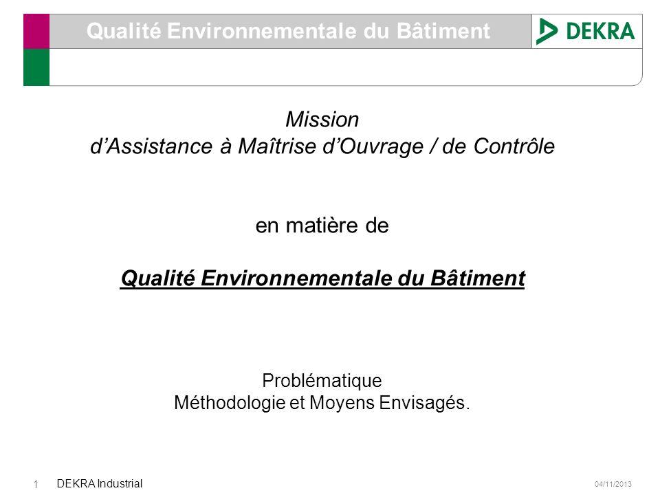 Qualité Environnementale du Bâtiment