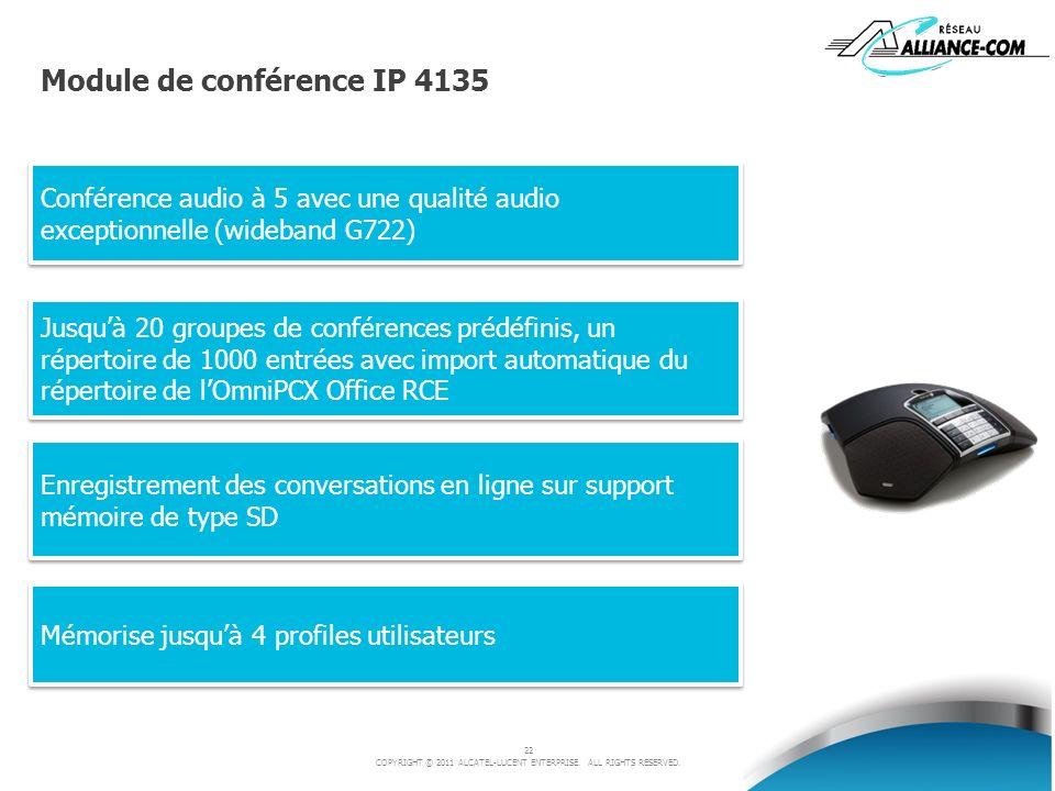 Module de conférence IP 4135