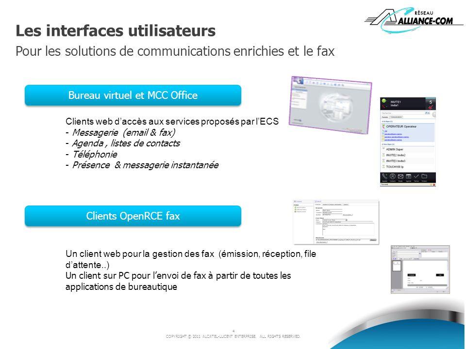 Bureau virtuel et MCC Office