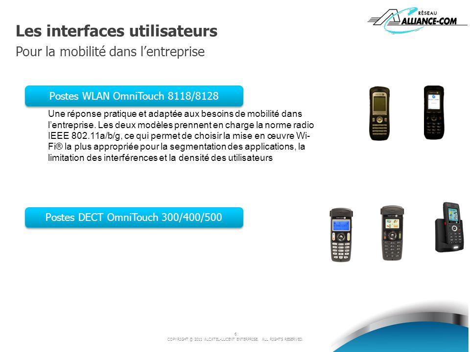 Les interfaces utilisateurs Pour la mobilité dans l'entreprise