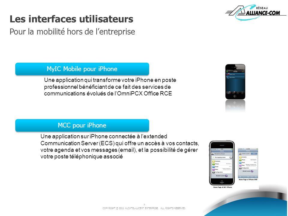 Les interfaces utilisateurs Pour la mobilité hors de l'entreprise
