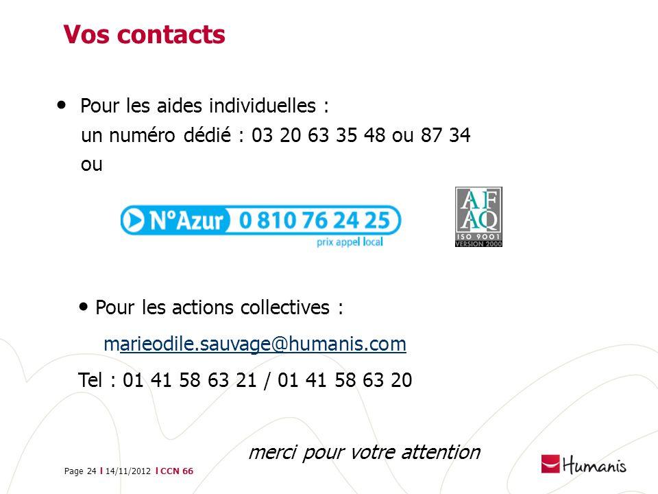 Vos contacts Pour les aides individuelles :
