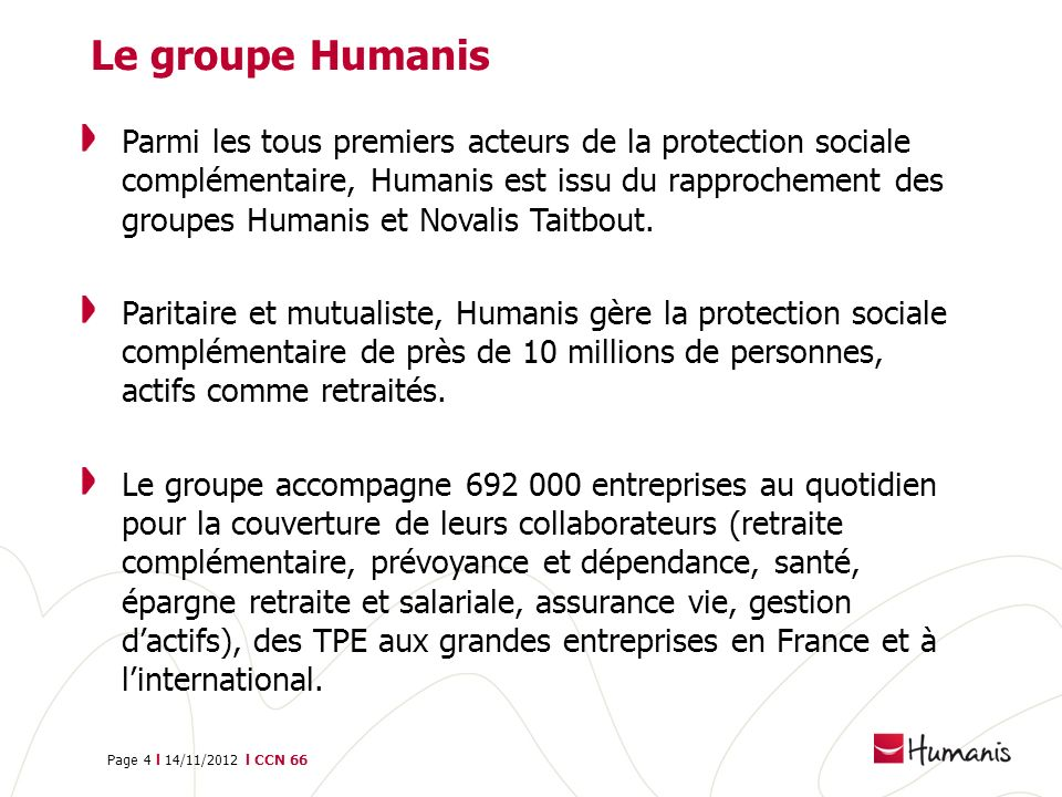 Le groupe Humanis
