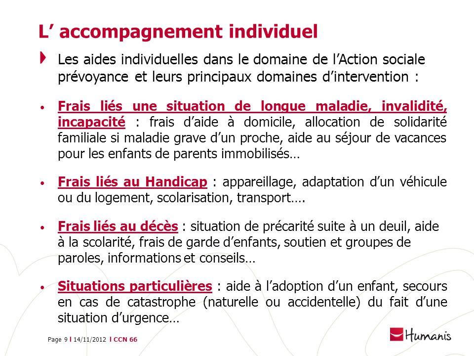 L' accompagnement individuel