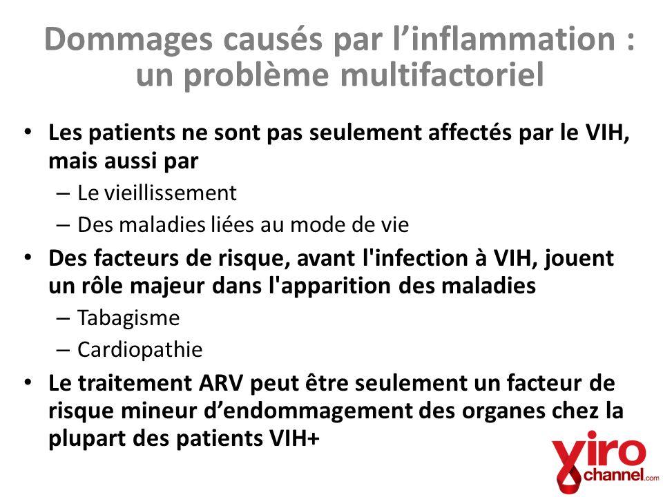 Dommages causés par l'inflammation : un problème multifactoriel