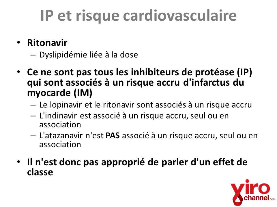 IP et risque cardiovasculaire