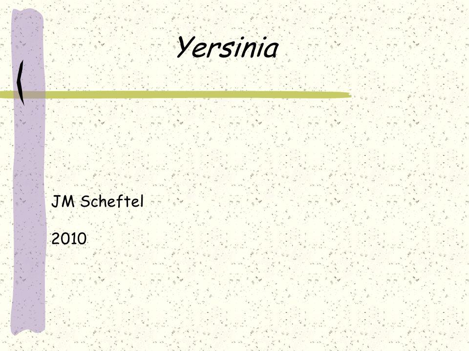 Yersinia JM Scheftel 2010