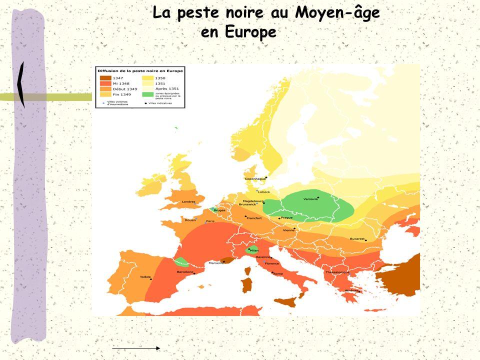 La peste noire au Moyen-âge