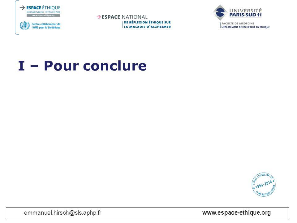 emmanuel.hirsch@sls.aphp.fr www.espace-ethique.org