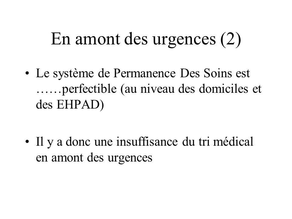 En amont des urgences (2)