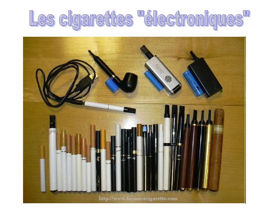 Les cigarettes électroniques