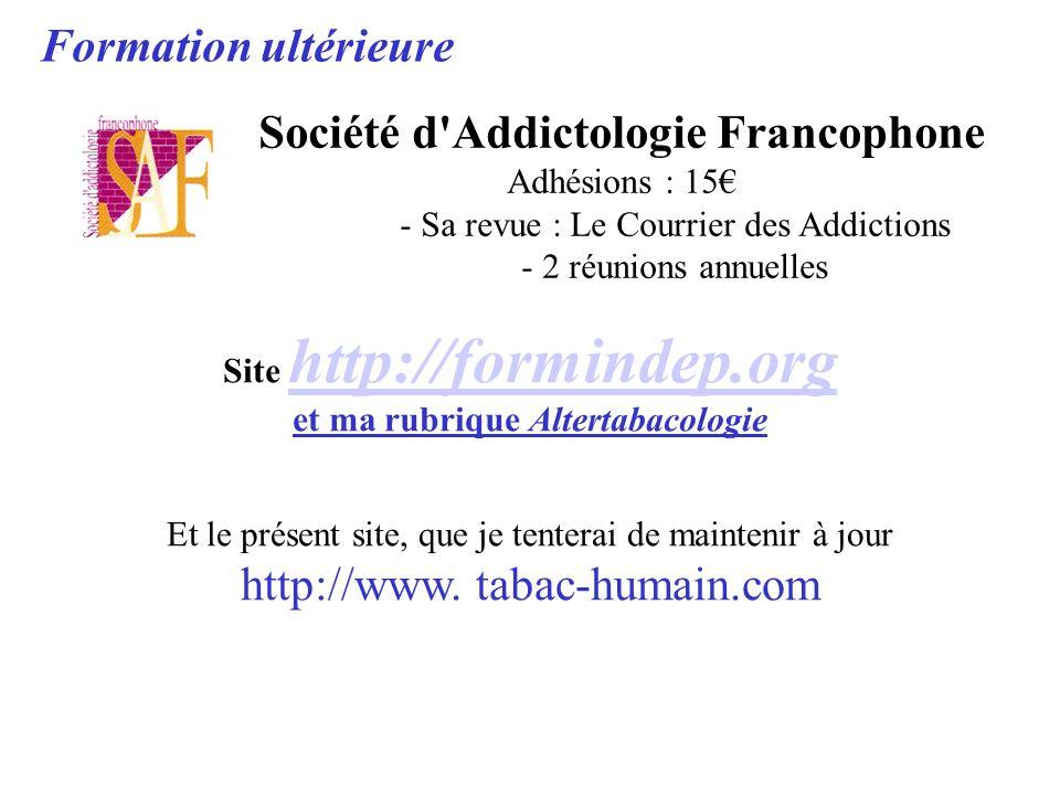 Société d Addictologie Francophone