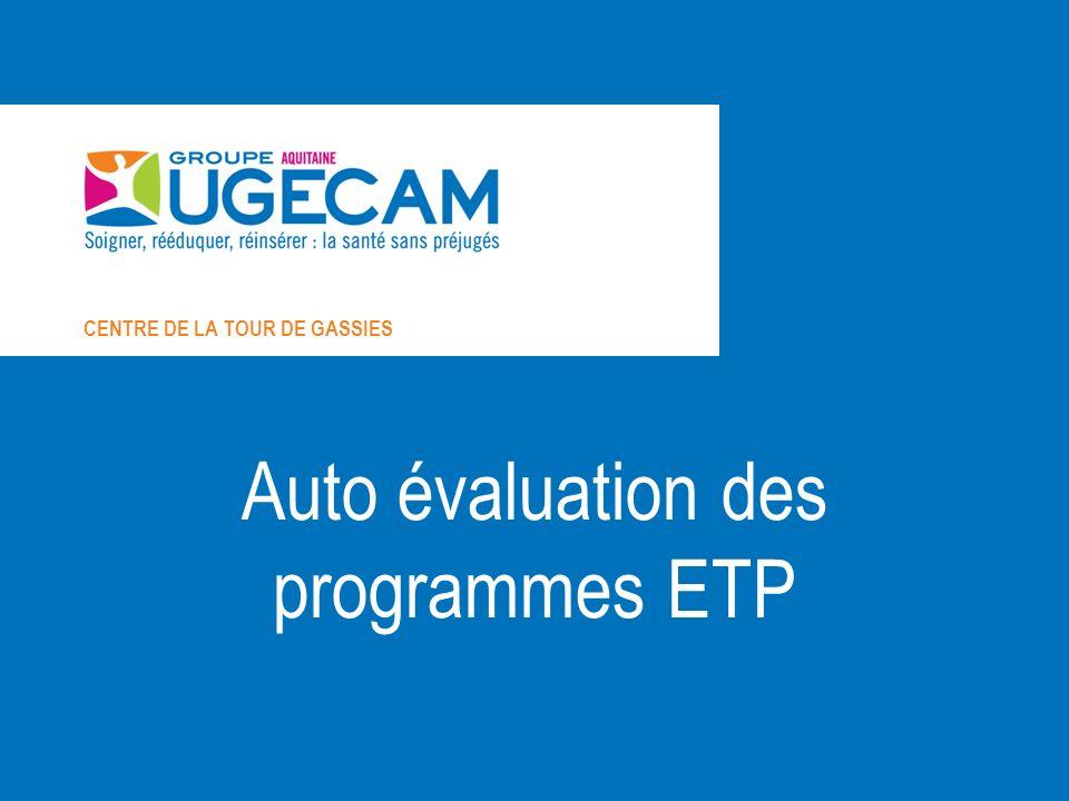 Auto évaluation des programmes ETP