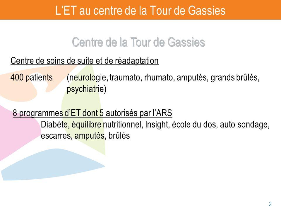 L'ET au centre de la Tour de Gassies