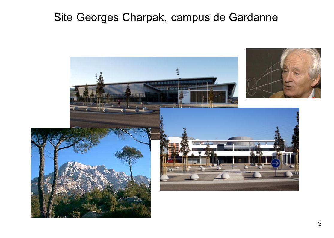 Site Georges Charpak, campus de Gardanne