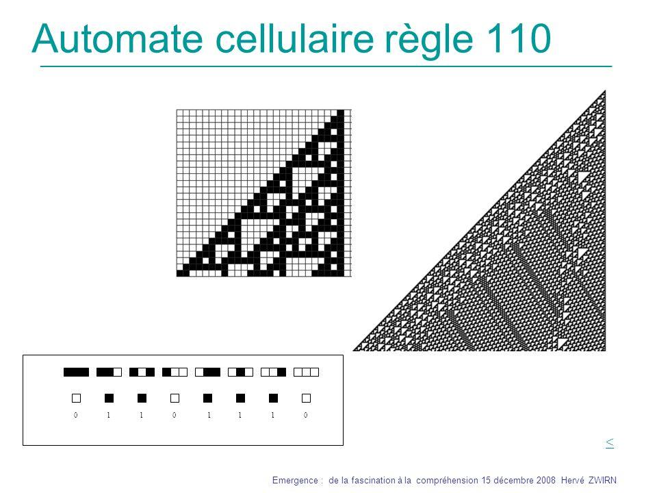 Automate cellulaire règle 110