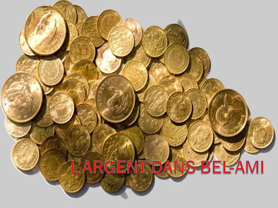 L'argent dans Bel-Ami