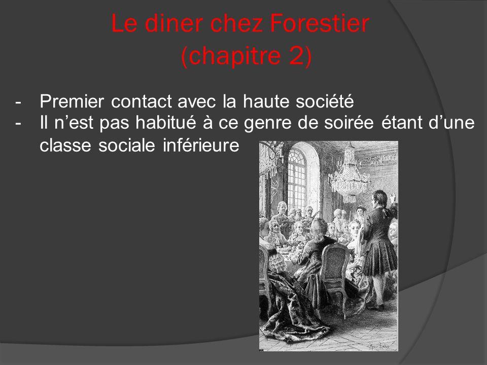 Le diner chez Forestier (chapitre 2)