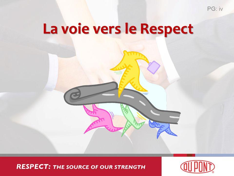 PG: iv La voie vers le Respect