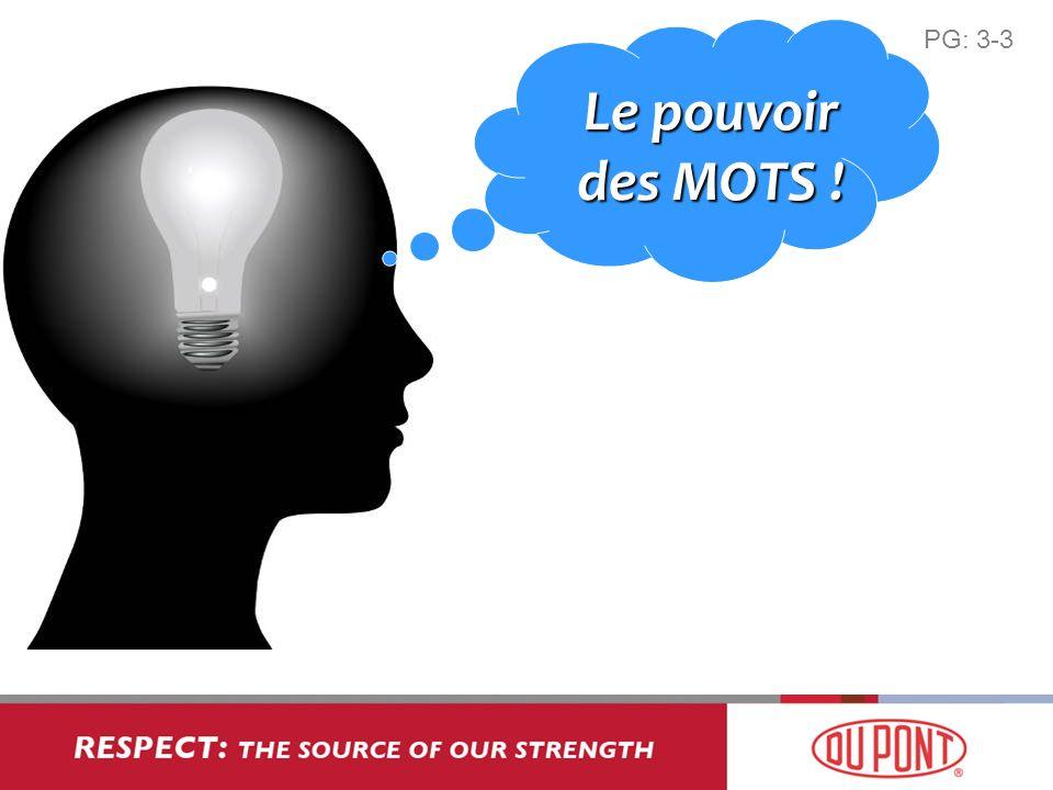 PG: 3-3 Le pouvoir des MOTS !