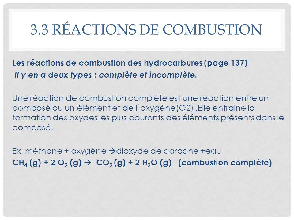 Module 2 les r actions chimiques ppt video online for Les types de combustion
