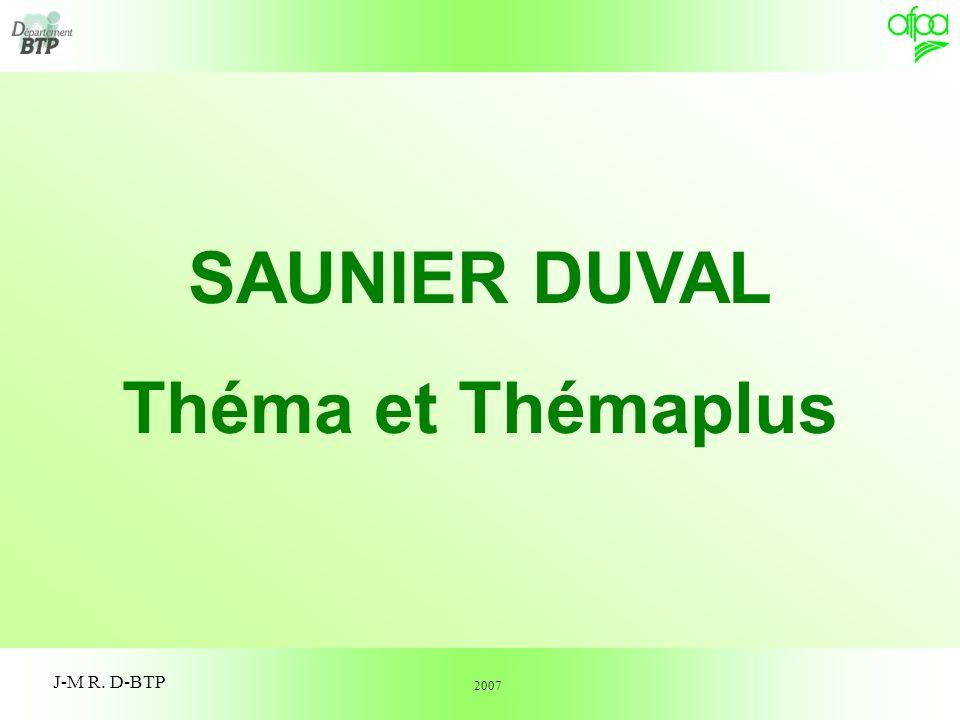 SAUNIER DUVAL Théma et Thémaplus