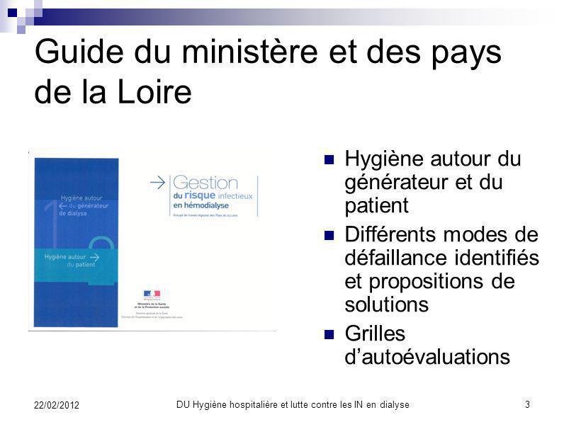 Guide du ministère et des pays de la Loire