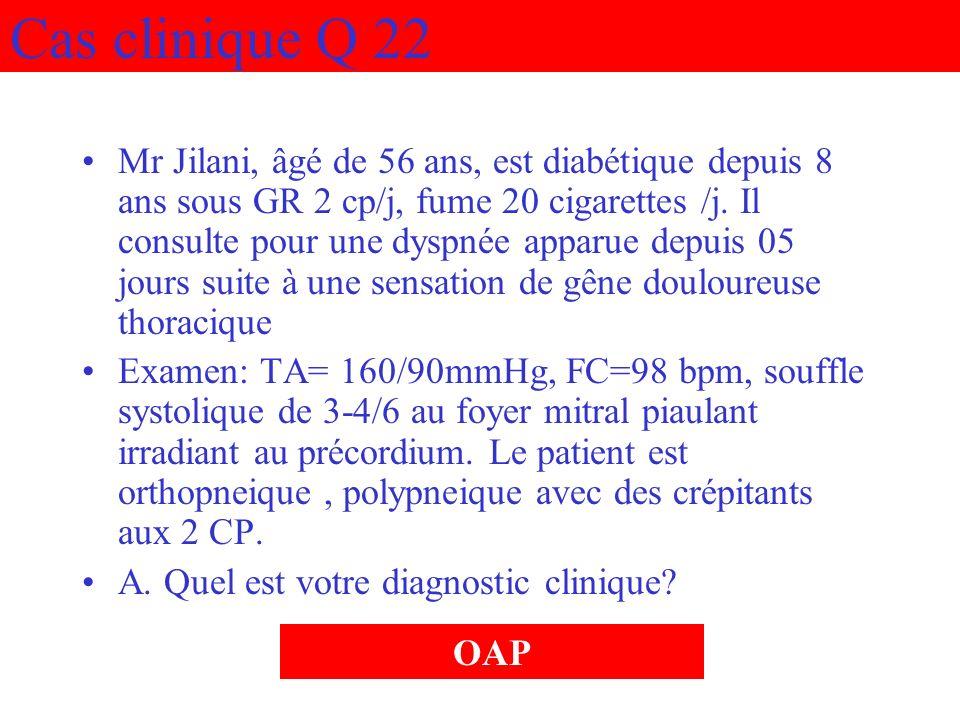Cas clinique Q 22
