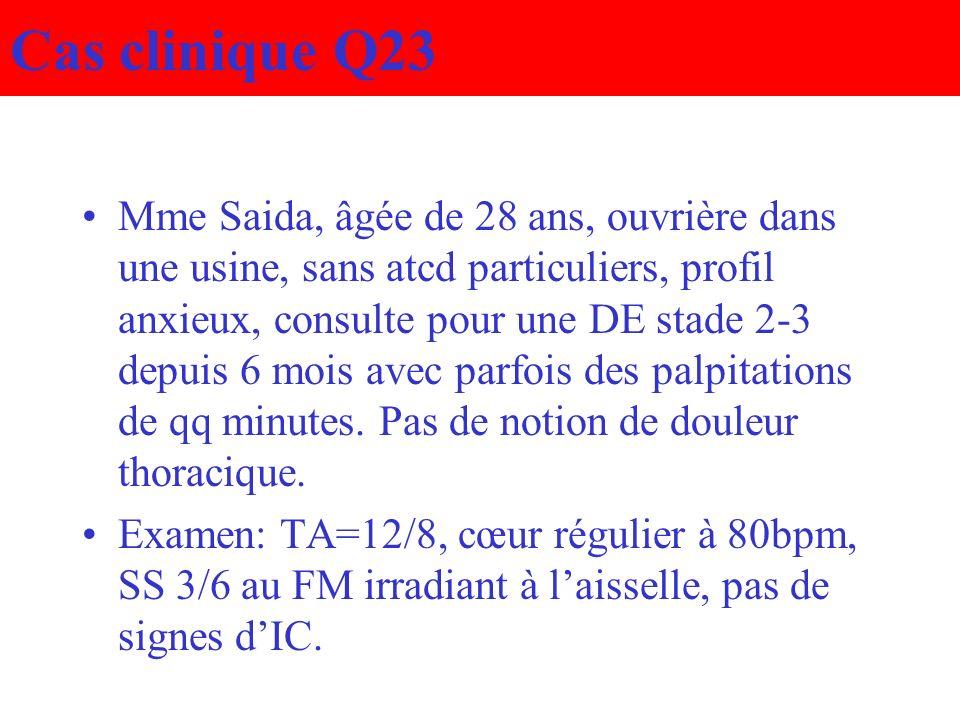 Cas clinique Q23