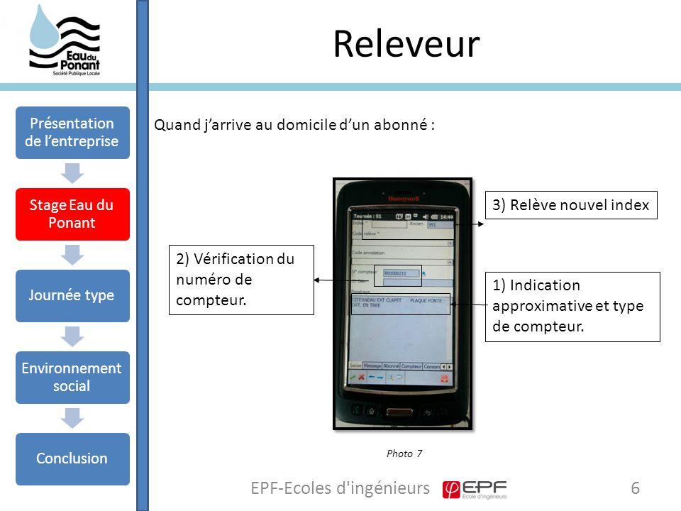 Releveur EPF-Ecoles d ingénieurs