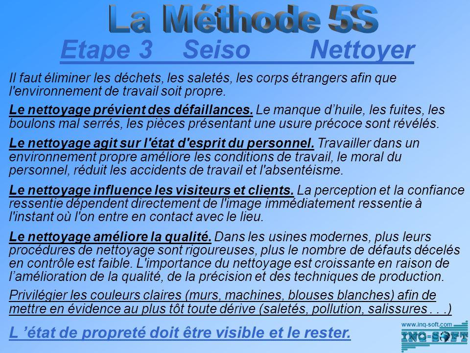 Etape 3 Seiso Nettoyer La Méthode 5S