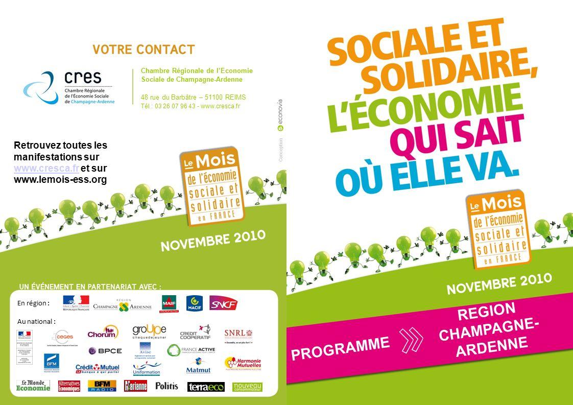 Region champagne ardenne ppt t l charger - Chambre regionale de l economie sociale et solidaire ...