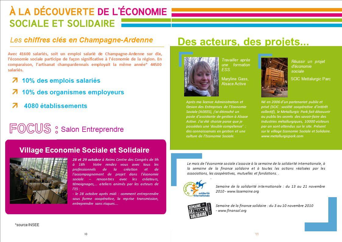 Region champagne ardenne ppt t l charger - Chambre de l economie sociale et solidaire ...