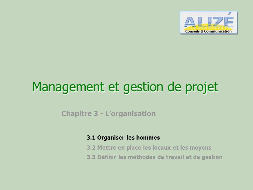 Management et gestion de projet