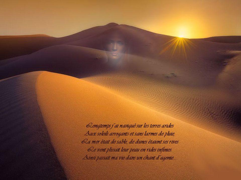 Longtemps j'ai navigué sur les terres arides