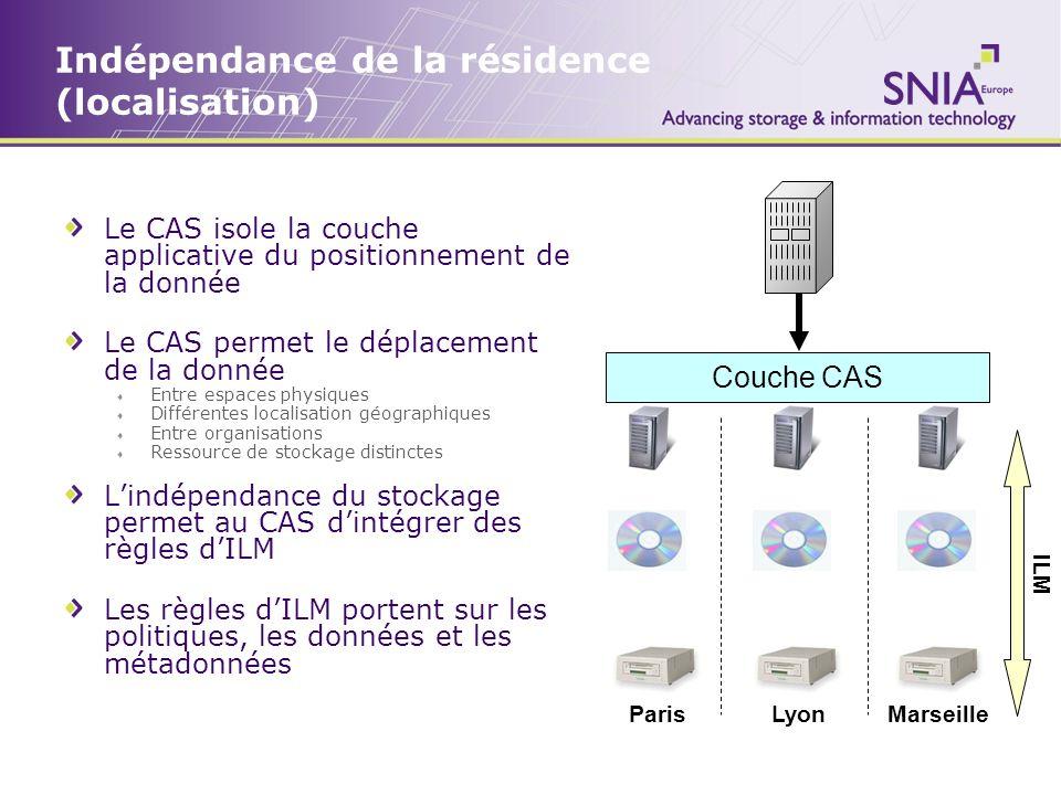 Indépendance de la résidence (localisation)