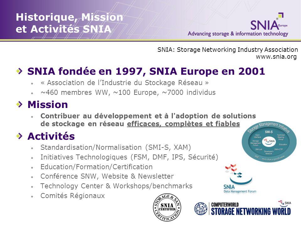 Historique, Mission et Activités SNIA
