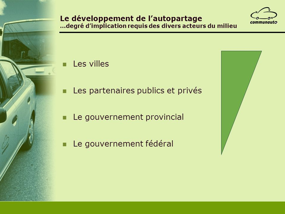 Les partenaires publics et privés